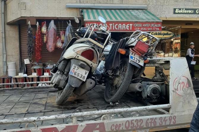 Gaziantep'te trafik uygulamalarında 135 araç trafikten men edildi