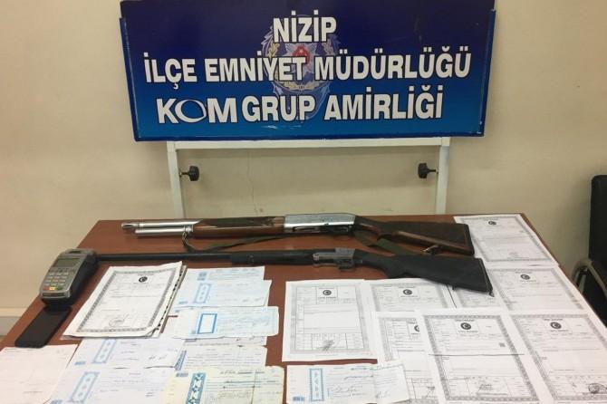 Nizip'te tefecilik operasyonunda 3 şüpheli gözaltına alındı