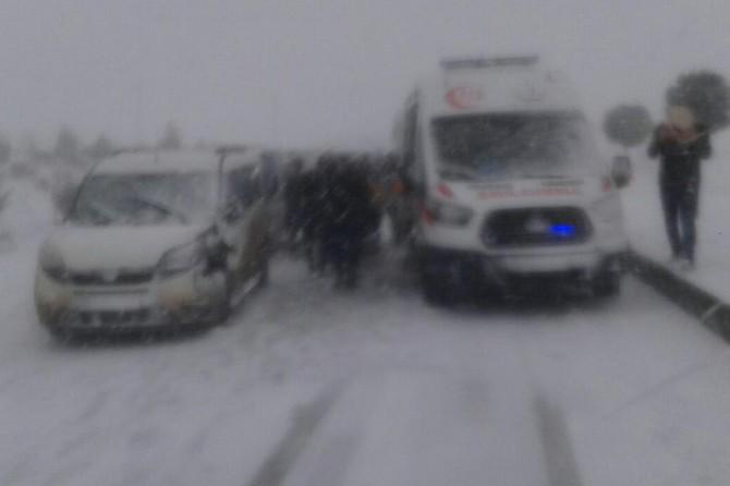 Viranşehir-Diyarbakır yolu ulaşıma kapandı