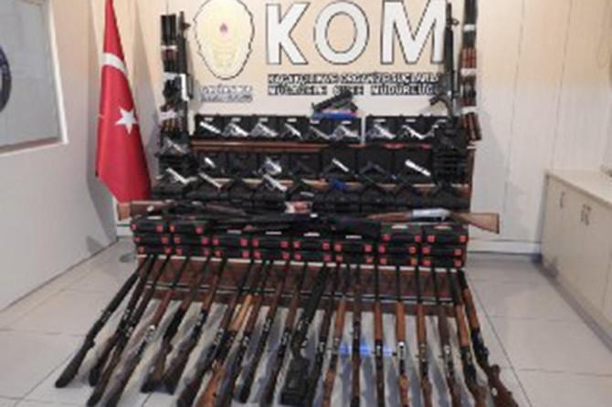 Gaziantep'te av bayilerine operasyon: 5 gözaltı