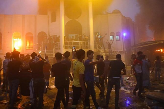 Irak'ta göstericilere ateş açıldı: 16 ölü