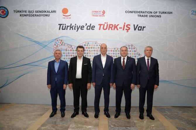 Ergün Atalay yeniden Türk-İş Genel Başkanı seçildi