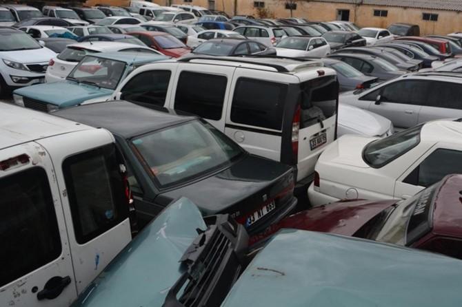 Gaziantep'te trafik denetimlerinde 90 araç trafikten men edildi