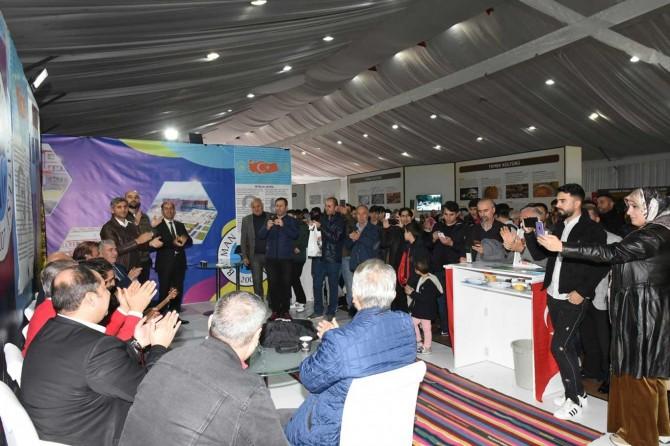 İstanbul'daki Batmanlılar memleket hasreti giderdi