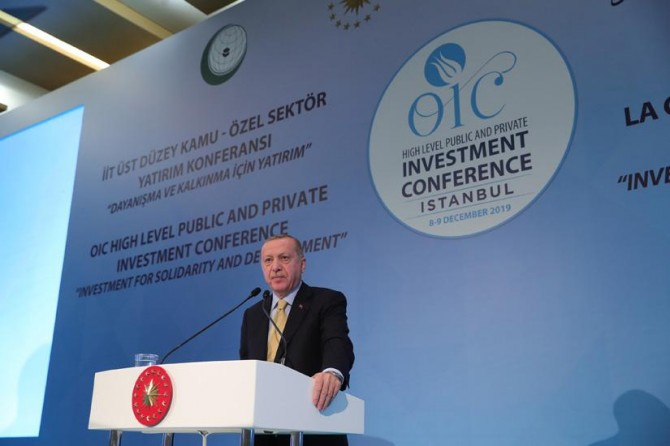 An effective mechanism of cooperation should be established among Islamic countries: Erdoğ