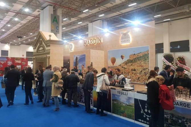 Travel Turkey'de Artuklu standı ilgi gördü