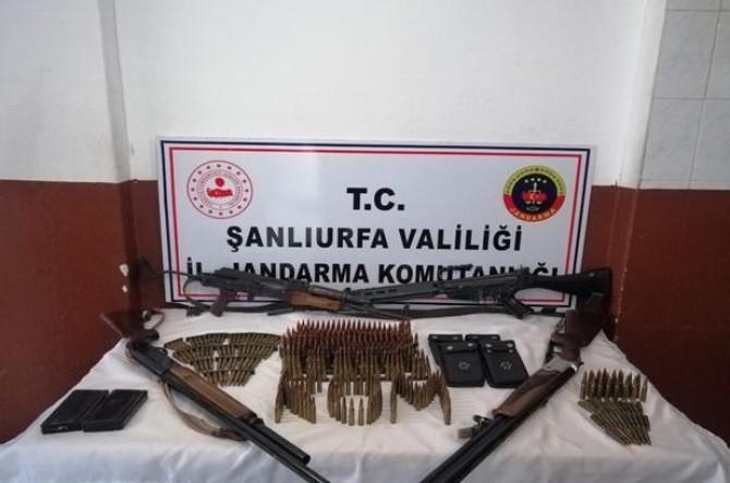 Şanlıurfa'da silah kaçakçılarına operasyon: 5 gözaltı