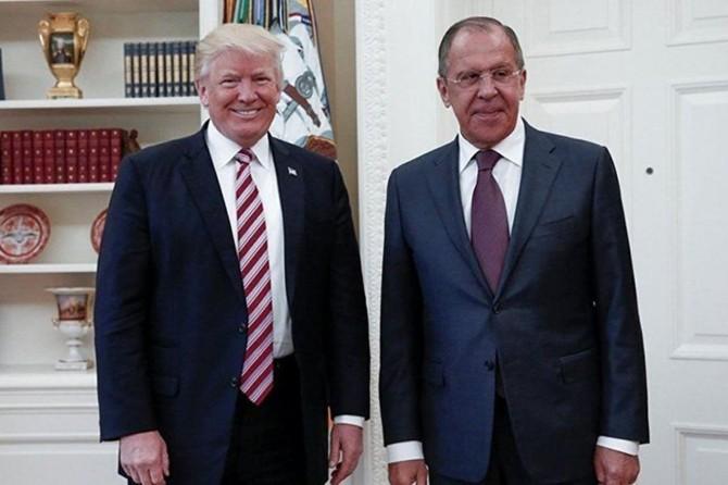 Rusya Dışişleri Bakanı Lavrov Beyaz Saray'da Trump'la görüşecek