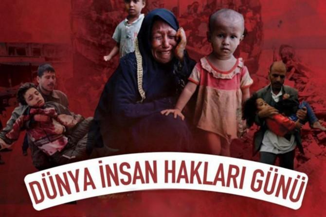 HÜDA PAR'dan '10 Aralık İnsan Hakları Günü' mesajı