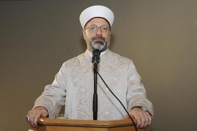 DİB Erbaş: Bizim vesilemizle bir kişi İslam'a ısınırsa, bu sevap bize yeter