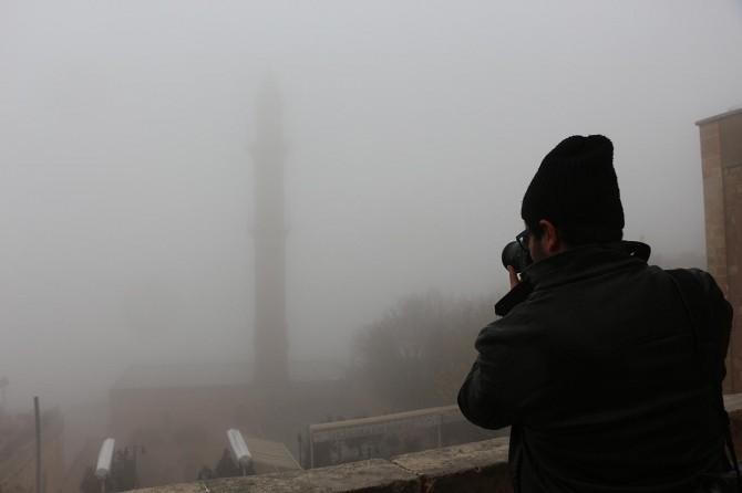 Mardin'de yoğun sis etkili oluyor