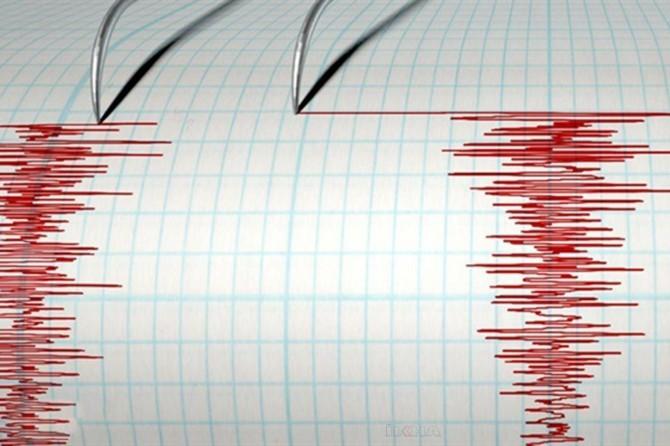 Girit Adası açıklarında 5,1 büyüklüğünde deprem
