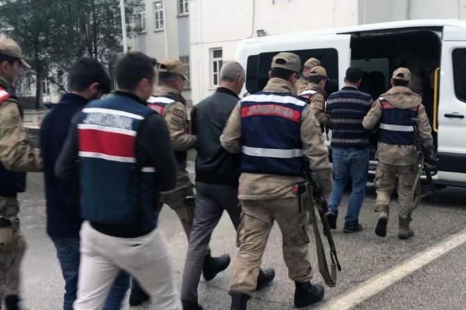 PKK'ya eleman sağlayanlara operasyon: 17 şüpheli gözaltında
