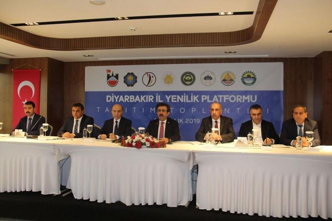 Diyarbakır Yenilik Platformu kuruldu