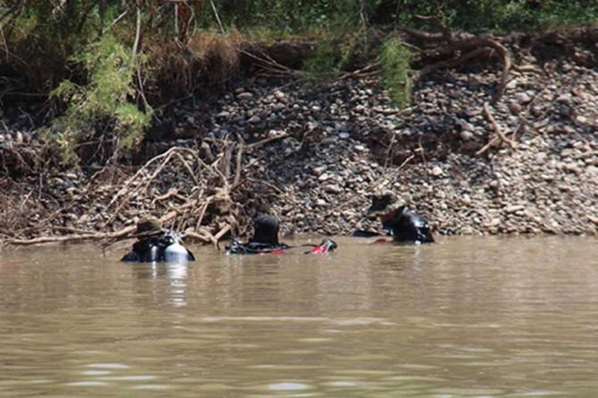 Nehre düşen balıkçının cesedine ulaşıldı