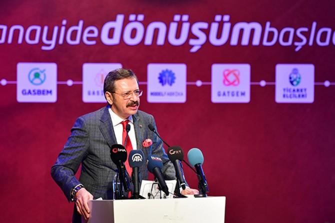 Hedefimiz Türkiye'yi ilk 20'ye sokmaktır