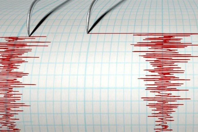 Akdeniz'de 4,9 büyüklüğünde deprem