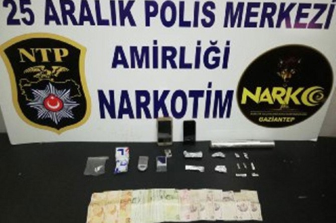 Gaziantep'te asayiş denetimlerinde aranan 130 şüpheli yakalandı