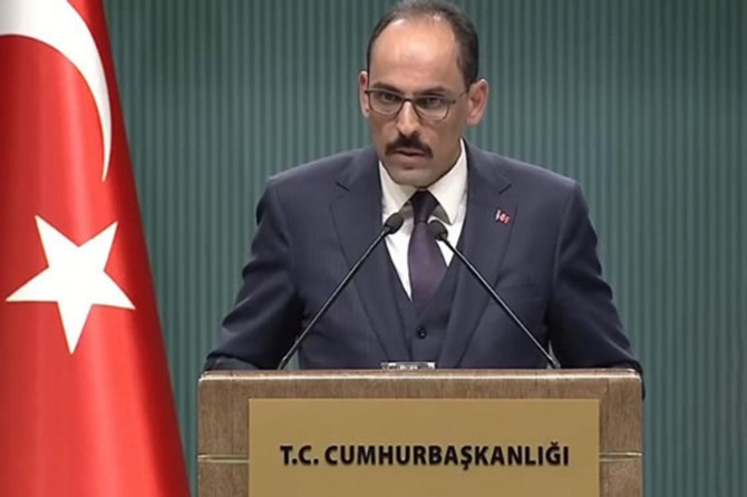 We stand ready to cooperate with all parties to make Mediterranean a sea of peace: Kalın