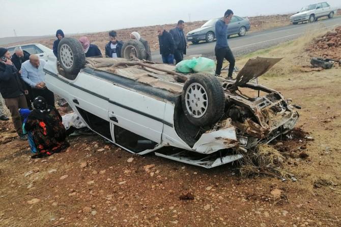 Viranşehir'deki kazada 1 kişi yaralandı