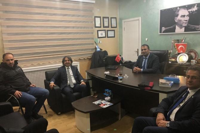 TDF Başkanı Ersan Başar'dan Ağrı ASKF'ye ziyaret