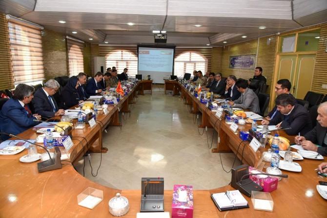 Türkiye ve İran Heyetleri 91. Alt Güvenlik Komite toplantısı gerçekleşti