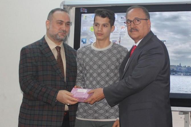 Asr-ı Saadete Mektuplar yarışmasının ödülleri verildi