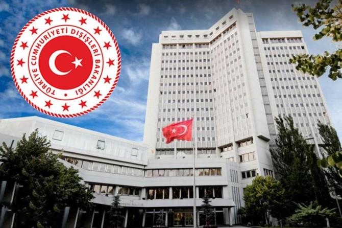 Dışişleri Bakanlığı: Kararın bağlayıcılığı ve geçerliliği bulunmamaktadır