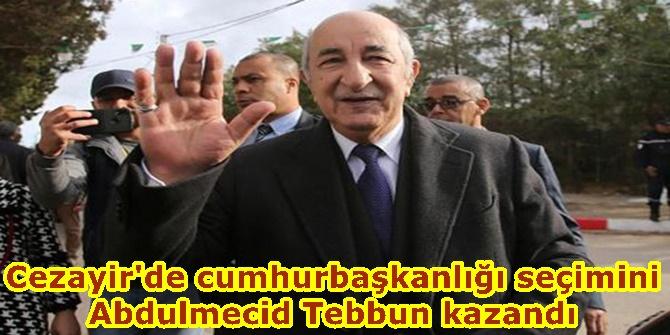 Cezayir'de cumhurbaşkanlığı seçimini  Abdulmecid Tebbun kazandı