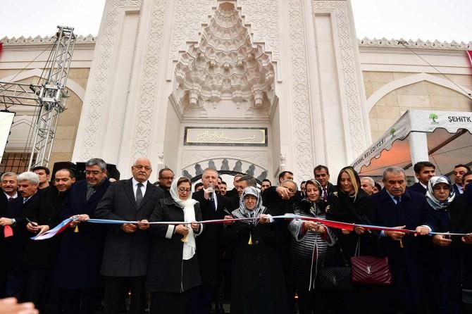 Gaziantep'te Servi Erdemoğlu Camii cami ibadete açıldı