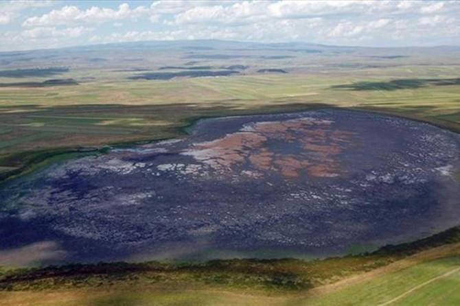 Kuyucuk Gölü'ne can suyu temin etmek maksadıyla su kuyusu açıld
