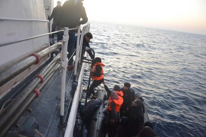 Edirne'de 60 düzensiz göçmen yakalandı