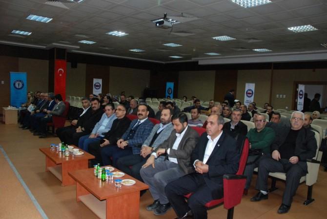Sağlık-Sen Bitlis Şubesi 3'üncü olağan kongresini yaptı