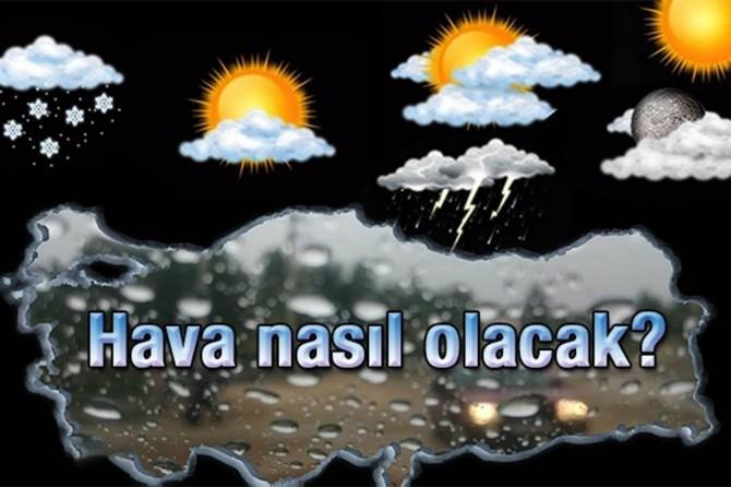 Türkiye genelinde hava durumu nasıl olacak