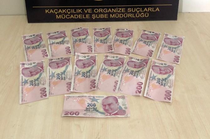 Adıyaman'da esnafa sahte para veren şahıs yakalandı