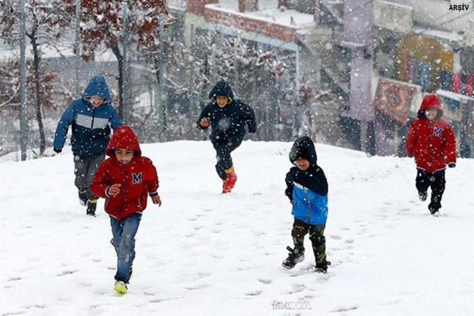 Kayseri'nin 2 ilçesinde okullar tatil edildi