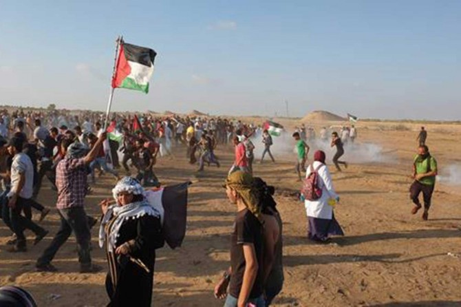 Siyonist çetelerin Büyük Dönüş Yürüyüşü saldırıları devam etti
