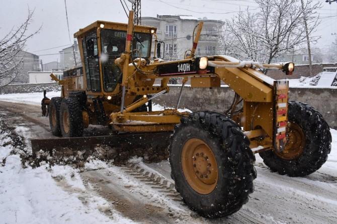 Kar ile mücadele için tüm hazırlıklarımızı tamamladık