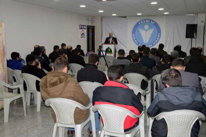 Ağrı'da Neslin Muhafazası semineri
