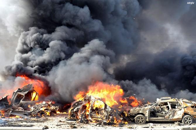 Rusya ve Esed rejimi okulu vurdu