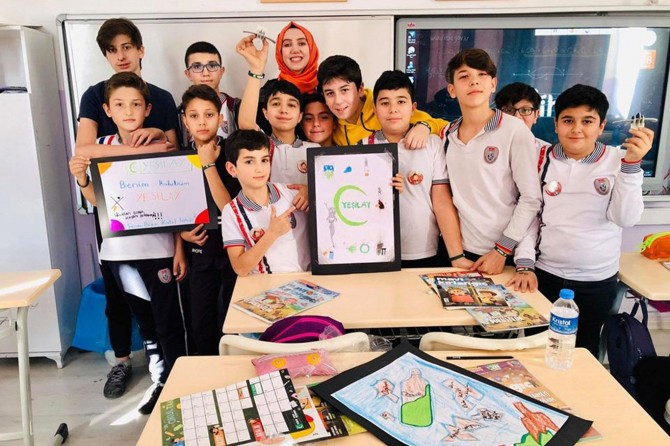 Sakarya'da Benim Kulübüm Yeşilay projesi