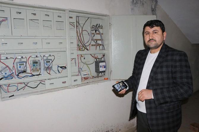 Yüksek voltaj mahalleliyi mağdur etti