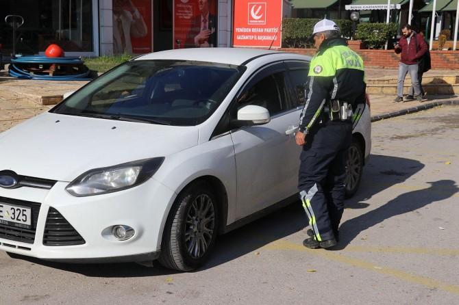 Gaziantep'te trafik uygulamalarında 671 sürücüye para cezası
