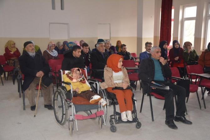 Engellilere hakları anlatıldı