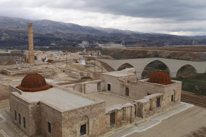 Eyyubi Cami'nin restorasyon çalışmaları tamamlandı