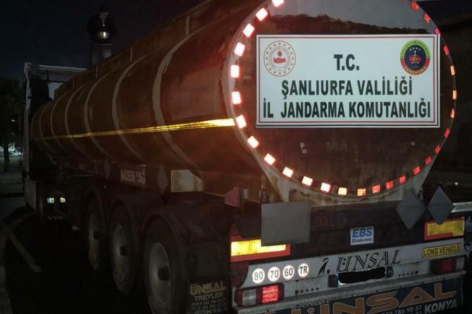 Birecik'te 31 bin litre kaçak yakıt ele geçirildi