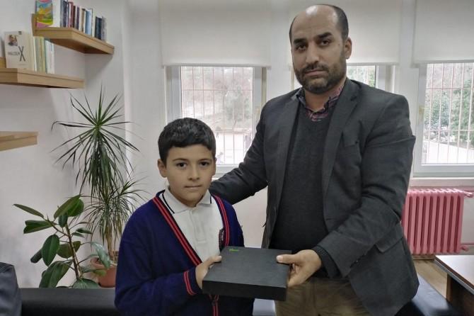 Ordu'da Kur'an Pınarı Sınavı'nda dereceye öğrenciye ödülü verildi