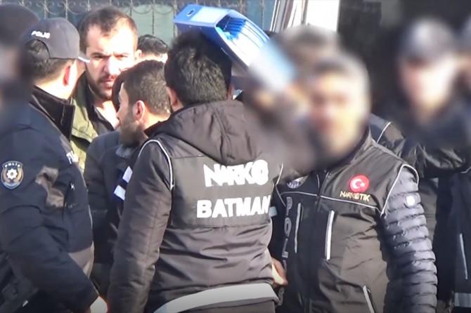 Batman'da uyuşturucu operasyonu: 18 kişi tutuklandı