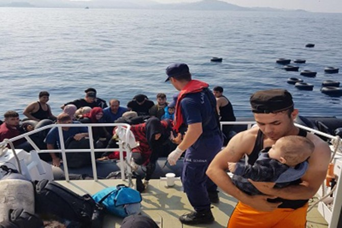 İzmir'deki göçmen faciasına 6 gözaltı