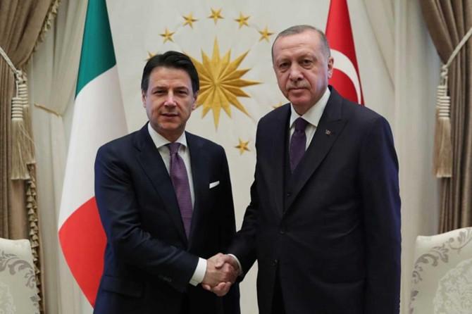 Erdoğan ile Conte görüşmesi sona erdi